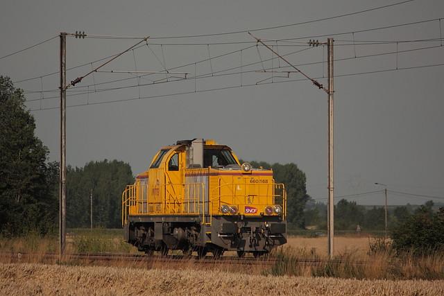 Vossloh 2573 - GA 1000 AS - BB 660168 / Hazebrouck