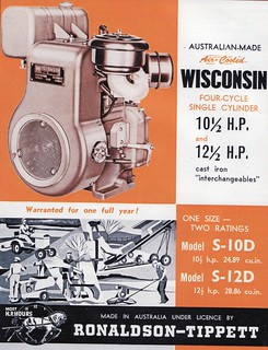 1965 Ronaldson - Tippett Engine Ad - Australia   Covers a Ro…   Flickr