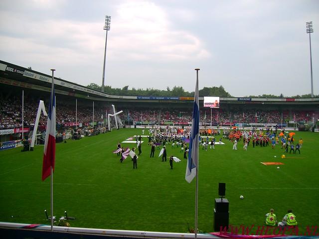 2007-07-16 Startbewijs op halen en vlaggen parade. (76)