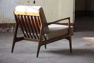 Awe Inspiring Sensual Midcentury Modern Ib Kofod Larsen Lounge Arm Chair Ocoug Best Dining Table And Chair Ideas Images Ocougorg