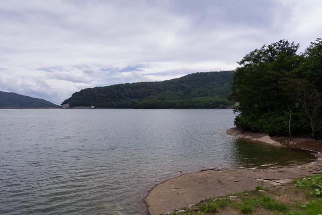 Tanbara artificial lake (Tanbara, Gunma, Japan)