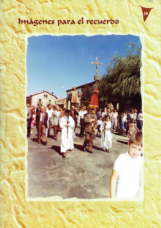 Programa Fiestas de San Lorenzo Año 2004