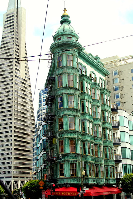 Columbus Tower, San Francisco, CA, USA.