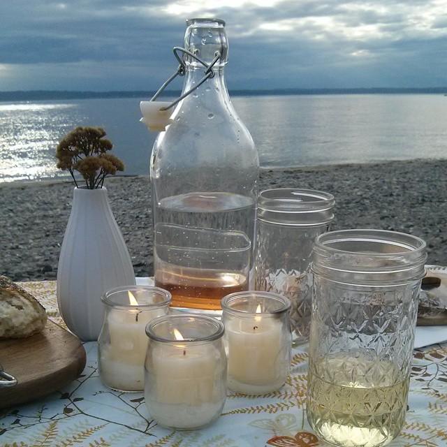 Beach Picnic w/ Cocktails