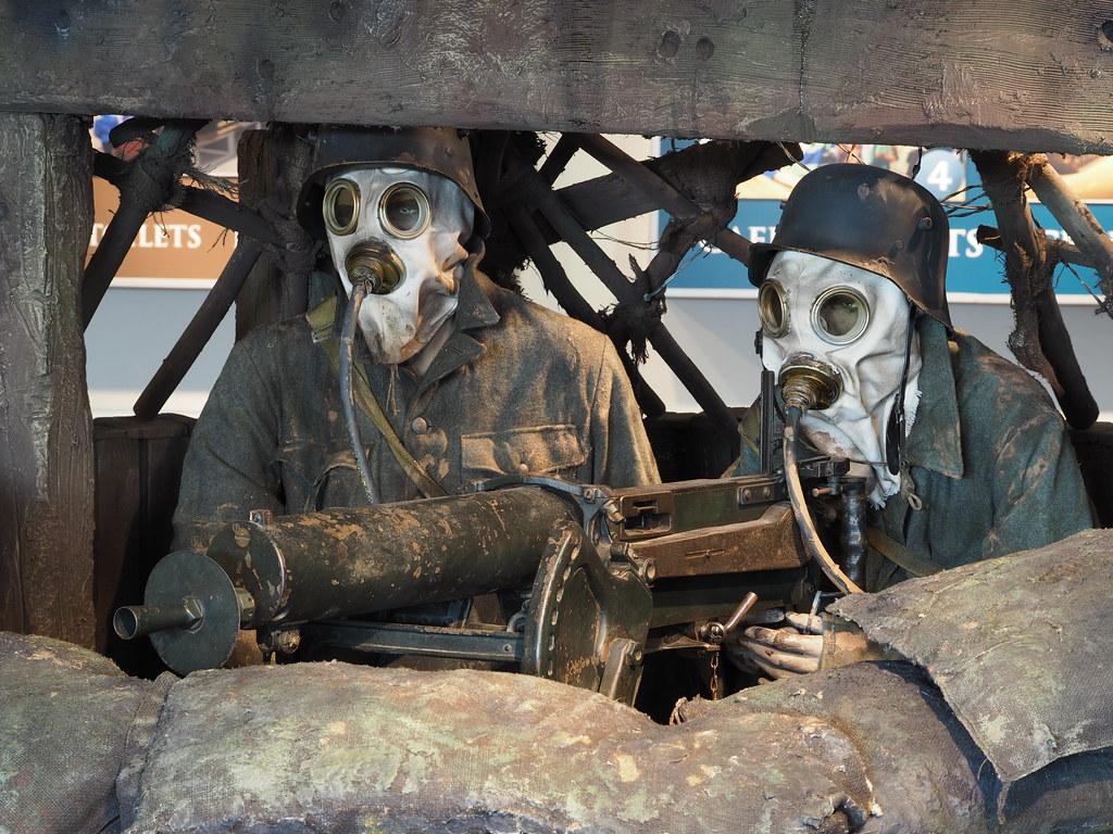 WW1 German Machine-gun Nest | M9251652 | Megashorts | Flickr