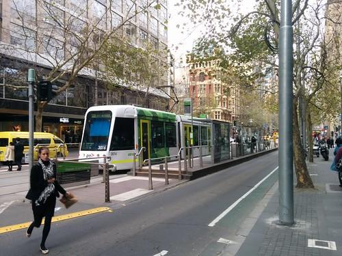 C class tram, new PTV colours