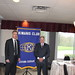 Robert T Bell & Glenn McKnight at Kiwanis May 13 2014