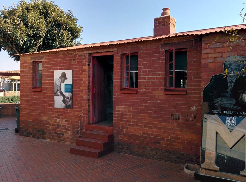 Nelson Mandela's House - the back