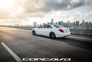 Mercedes Benz S550 on CW-5 | by Concavo Wheels