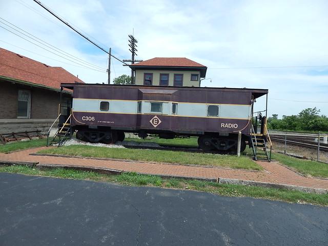 EL caboose at Marion Ohio