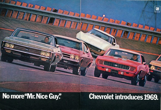 1969 Chevrolet Advertisement Road & Track October 1968