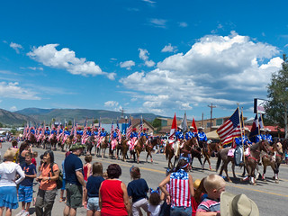 Fourth of July parade in Granby, Colo | by tctyin