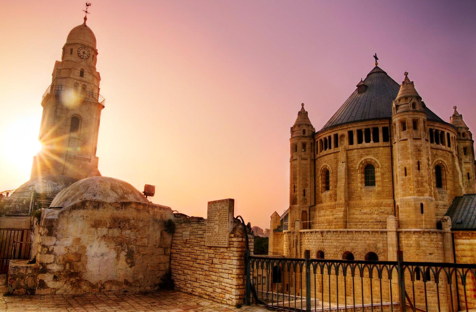 Jerusalem_Dormition Abbey_2_Noam Chen_IMOT