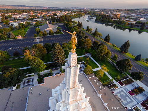 aerialphotography mormontemple churchofjesuschristoflatterdaysaints ldstemple idahofallstemple jamesneeley djiphantom2vision