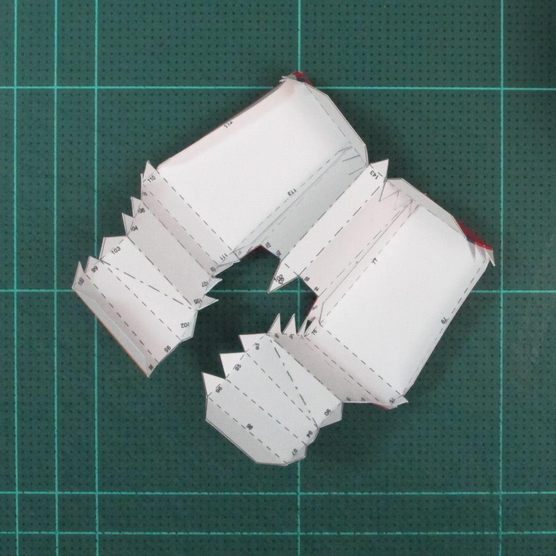 วิธีทำของเล่นโมเดลกระดาษซุปเปอร์แมน (Chibi Superman  Papercraft Model) 023