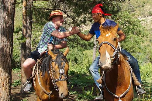 Kyrgyz horsemen   by CharlesFred