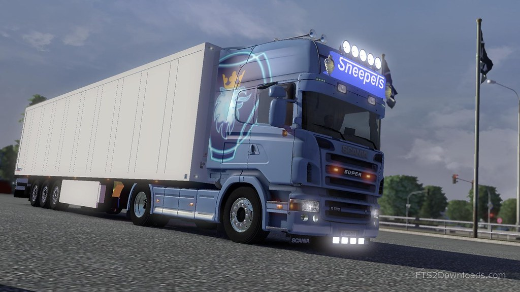 Sneepels Skin for Scania R2008 | image from ets2downloads co… | Flickr