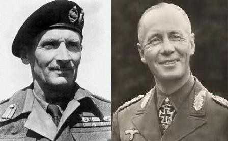 Bernard Montgomery y Erwin Rommel