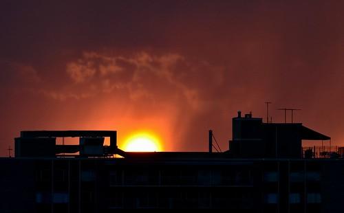 sunset usa nikon kansascity rings missouri blackcloud d7000
