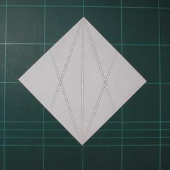 วิธีพับกระดาษเป็นรูปปลาโลมาแบบง่าย (Easy Origami Dolphin) 001