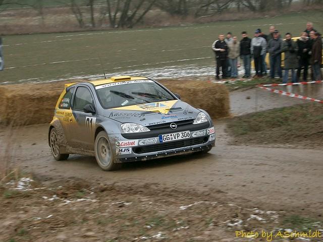 Opel Corsa S1600 Horst Rotter Rallye Zorn 2004