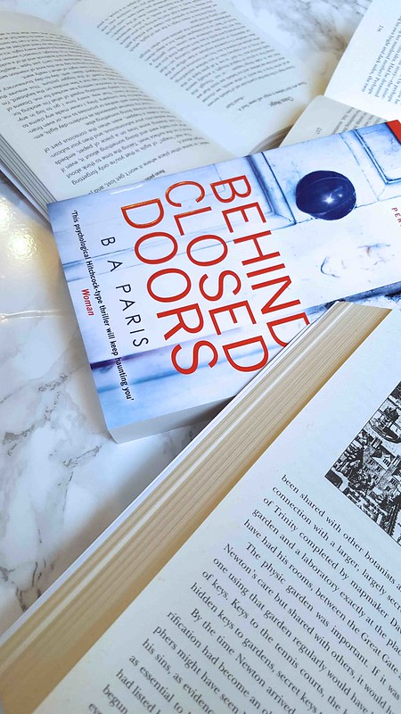 Book Blogger on Behind Closed Doors