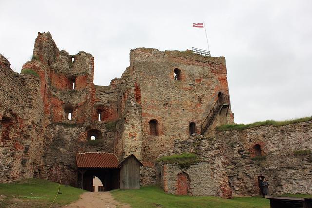 Bauska Castle | The ruins of an earlier castle