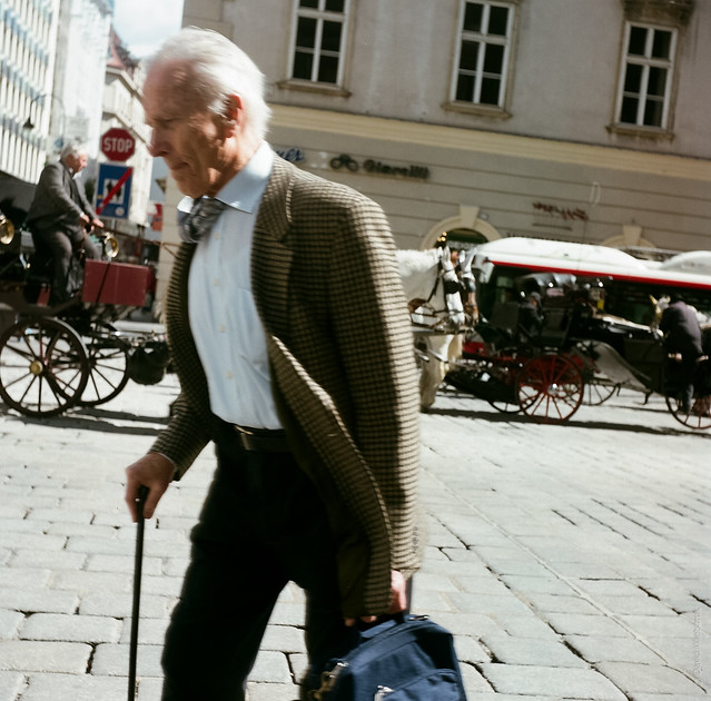 Crooked old man