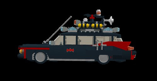 Bat-Ecto-1 side | by Oky - Space Ranger
