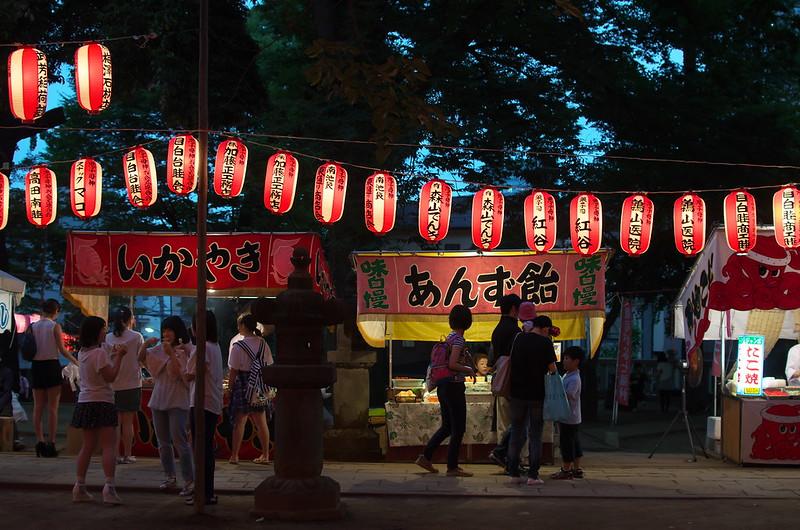 平成26年 雑司ヶ谷鬼子母神盆踊り 2014年7月18日