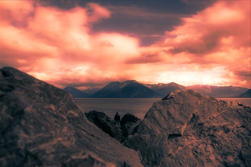 panorama mountain alaska landscape unitedstates scenic glacier anchorage montaña glaciar turnagainarm scenicview ononephotos bolugapoint