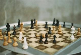 Chess in the Rain