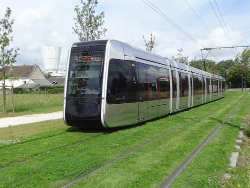 Alstom Citadis 402 n°053  -  Tours FIL BLEU - Ligne A | by A - Bobo
