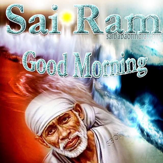 Good Morning Sairam Sathya Sai Baba Saibabaofindia Sboi