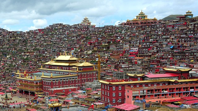 The Religious Encampment of Larung Gar, Tibet 2013
