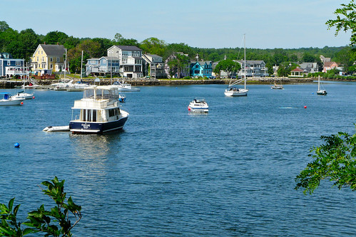 Mahone Bay from across the water | by Craig James White