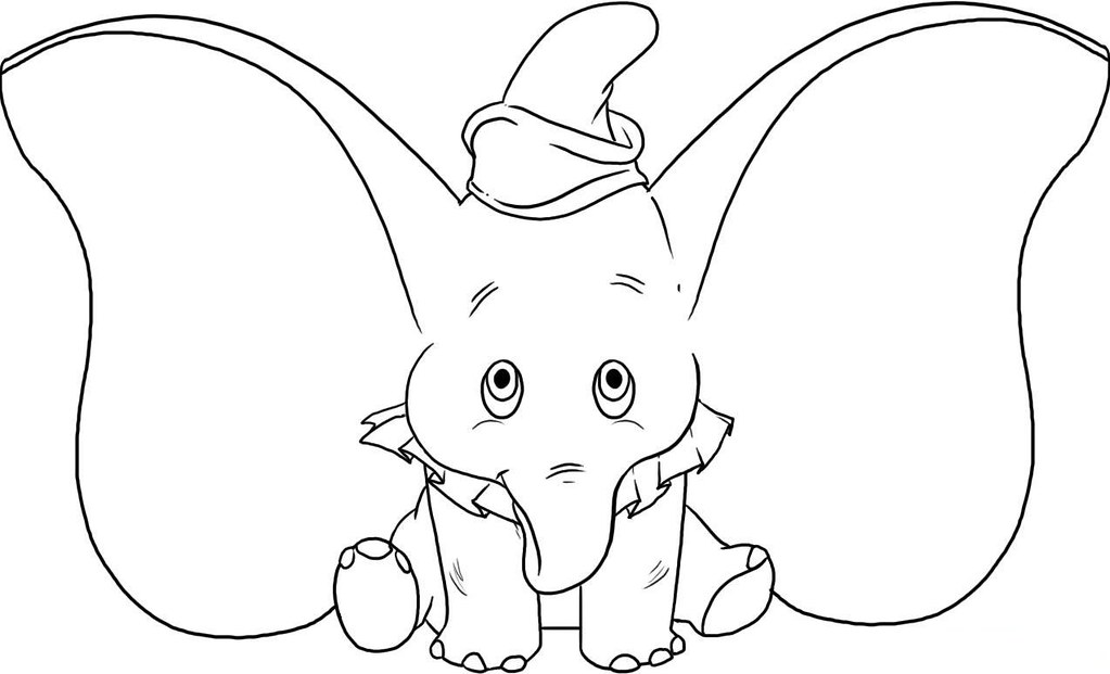 Desenhos Para Colorir Elefante Dumbo Desenhos Para Imprimi Flickr