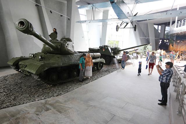 Belarus - Exposition of the new Museum of WW2 in Minsk, July, 2014 | Менск – новы музэй Вялікай Айчыннай Вайны, ліпень 2014