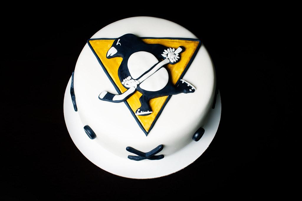 Pittsburgh Penguins Logo Cake Kayley Mackay Flickr