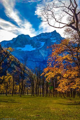 tirol österreich paisaje alpen paysages hdr tyrol karwendel ahornboden karwendelgebirge vomp alpenparkkarwendel bergahorn hinterriss groserahornboden sonyslta55v heribertpohl alpenlandschaften tirolerischbayrischenlandschaftsundnaturschutzgebiets
