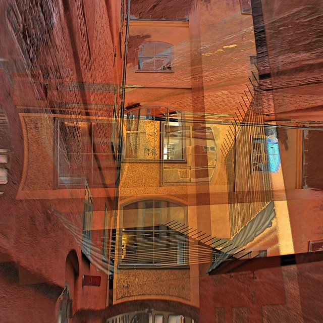 Alley Windows - Abstract Composite