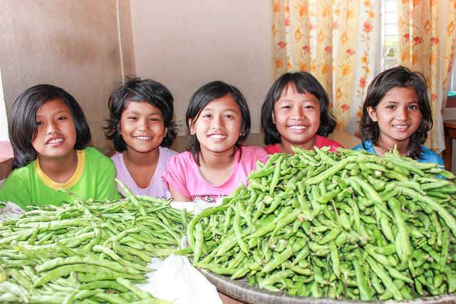 Nepal farmland yields abundant harvest; provides nutritious meals for orphans, trafficking survivors