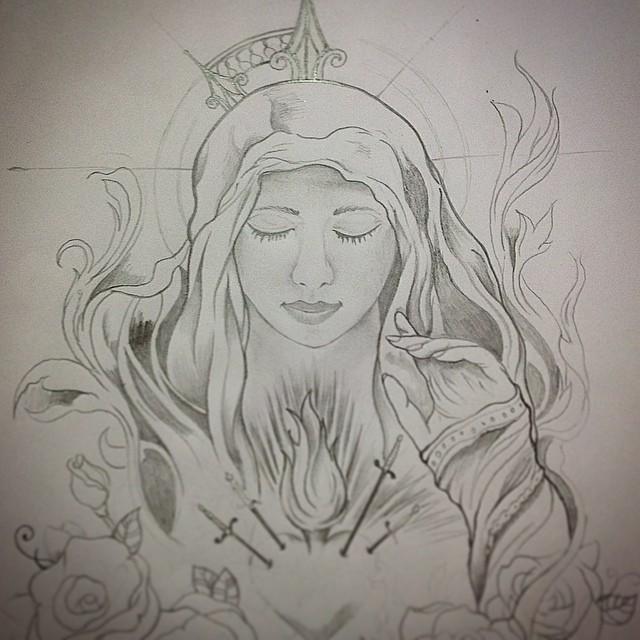 Tattoo Tatuagem Rascunho Estudo Sketch Doodle Desen Flickr