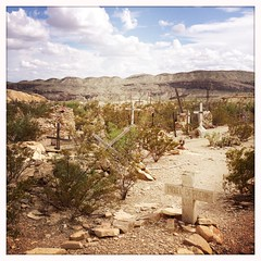 Cemetery - Terlingua Ghost Town