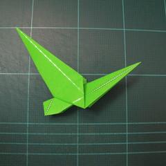 วิธีพับกระดาษเป็นรูปหอยทาก (origami Snail) 015