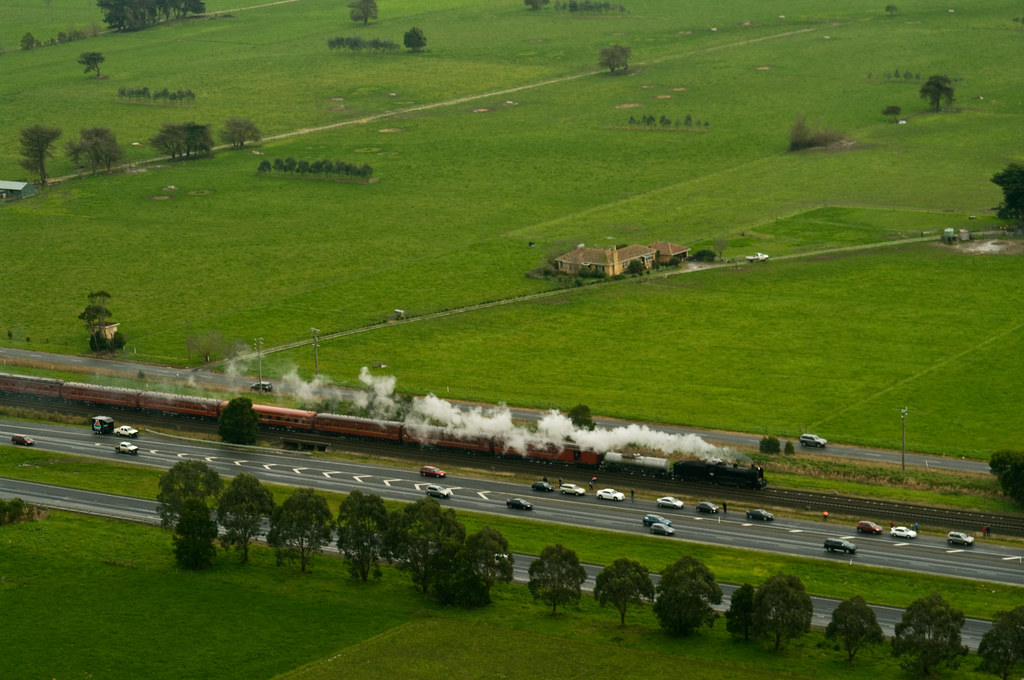 Steamrail Victoria's Y112 125th Birthday Journey by Prowsee
