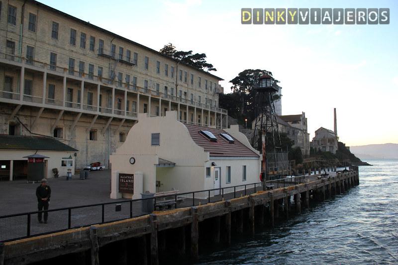Prisión de Alcatraz. Muelle