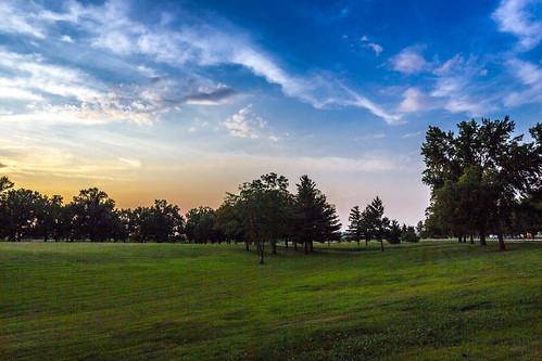 sunset southernillinoissunsets pwpartlycloudy