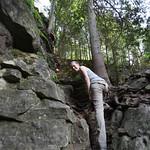 Long legged Emily, Bruce's Caves
