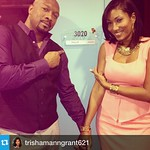 "I'm so proud of this beautiful couple. #Repost from @trishamanngrant621 with @repostapp  ---  ""FLIP"" is that you?? It's almost 9 p.m. which means it's time to turn on OWN and watch TONY GRANT and TRISHA MANN-GRANT have fun playing opposite each other on T"